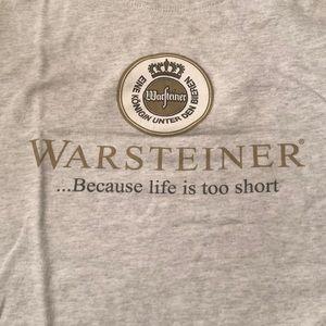 Warsteiner Beer tee shirt